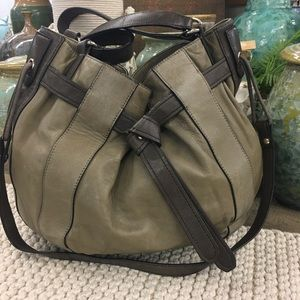 Kooba leather hobo satchel bag